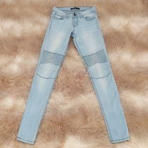 Flying Monkey Platinum Stretch Skinny Light Jeans